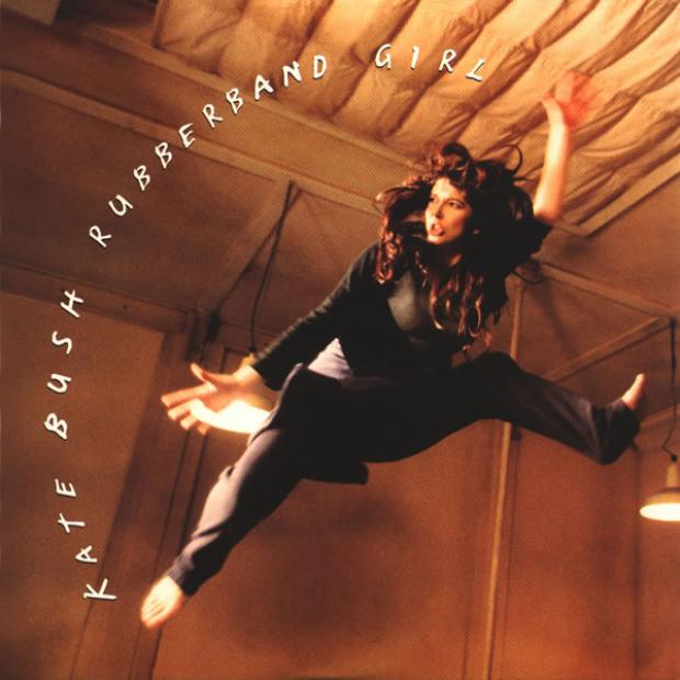 Rubberband Girl Single Cover Kate Bush