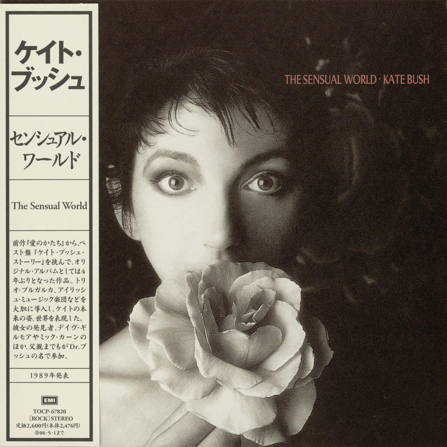 The Sensual World - Japanese Release - album cover